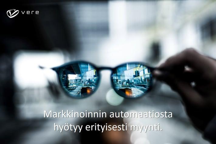 Markkinoinnin automaatio ja myynti Vere Oy